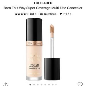 Too Faced Born This Way Concealer in Swan